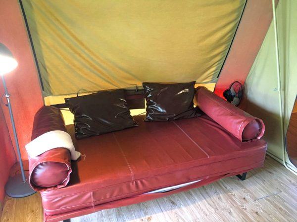 ララ ムクハ テンティッド リゾート カオヤイ(Lala Mukha Tented Resort Khao Yai)のテント内3