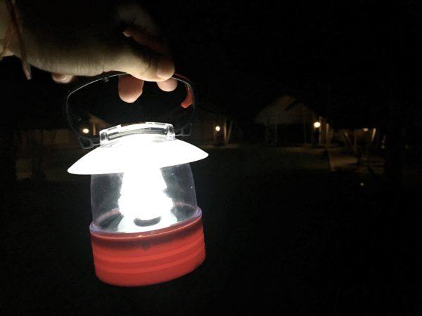 ララ ムクハ テンティッド リゾート カオヤイ(Lala Mukha Tented Resort Khao Yai)のライト