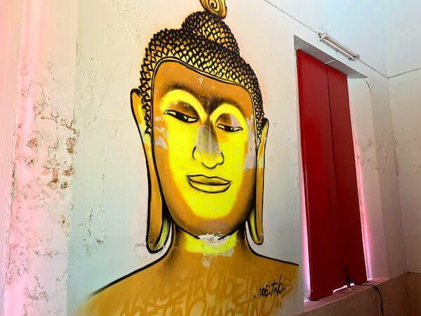 ワット・コー(Wat Ko)仏堂内の壁画4