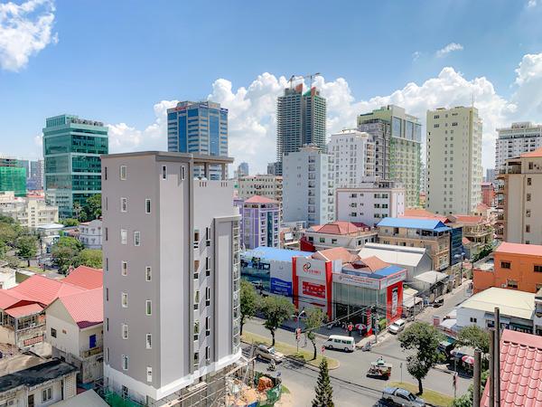 シティ コンフォート ホテル オリンピック(City Comfort Hotel Olympic)のバルコニーから見える景色