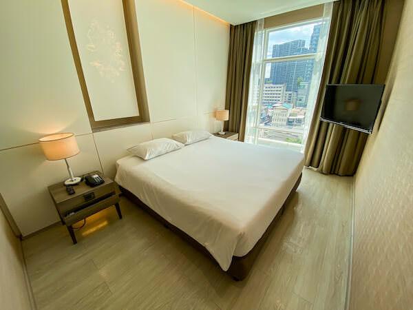ジャスミン 59 ホテル(Jasmine 59 Hotel)の客室ベッドルーム