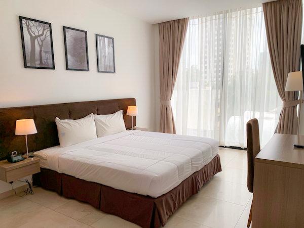 マンション 51 ホテル アンド アパートメント(Mansion 51 Hotel and Apartment)のベッドルーム