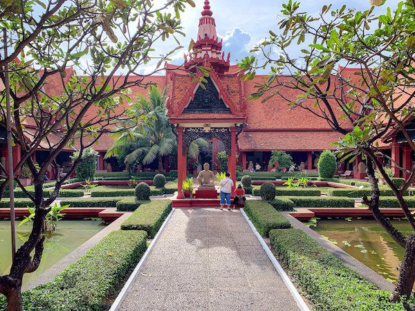 国立博物館の中庭