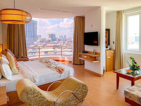 オルセー ワン ホテル アンド アパートメント(Orussey One Hotel and Apartment)の客室