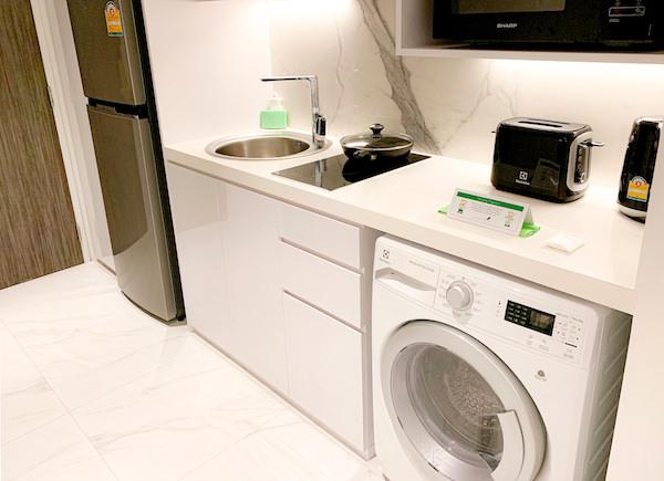 サマセット メゾン アソーク バンコク(Somerset Maison Asoke Bangkok)の洗濯機