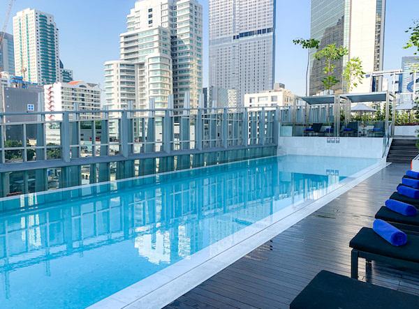 サマセット メゾン アソーク バンコク(Somerset Maison Asoke Bangkok)の屋上プール