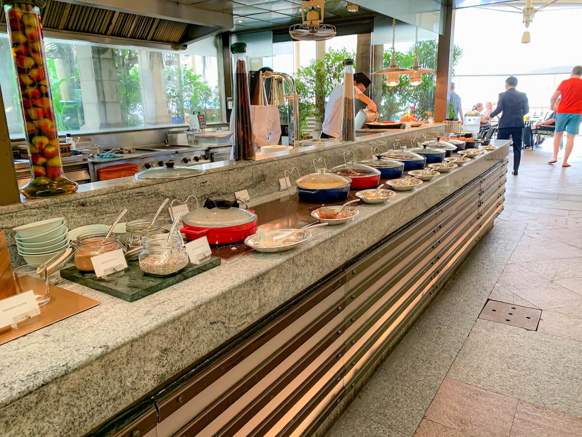 ザ ペニンシュラ バンコク(The Peninsula Bangkok)の朝食ビュッフェ2