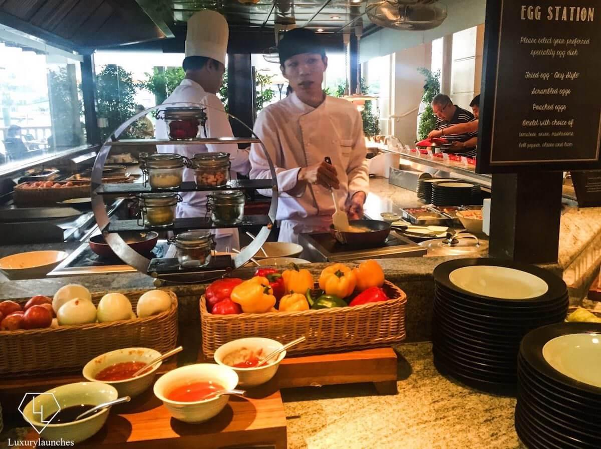 ザ ペニンシュラ バンコク(The Peninsula Bangkok)の朝食ビュッフェ3