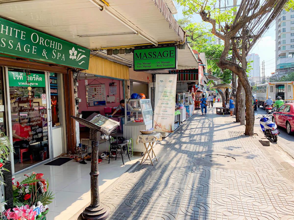 ザ ペニンシュラ バンコク(The Peninsula Bangkok)周辺の通り