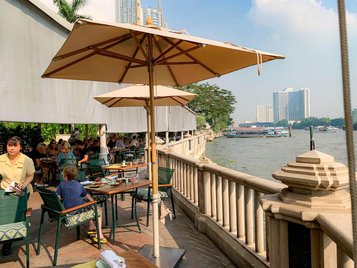 ザ ペニンシュラ バンコク(The Peninsula Bangkok)の朝食会場