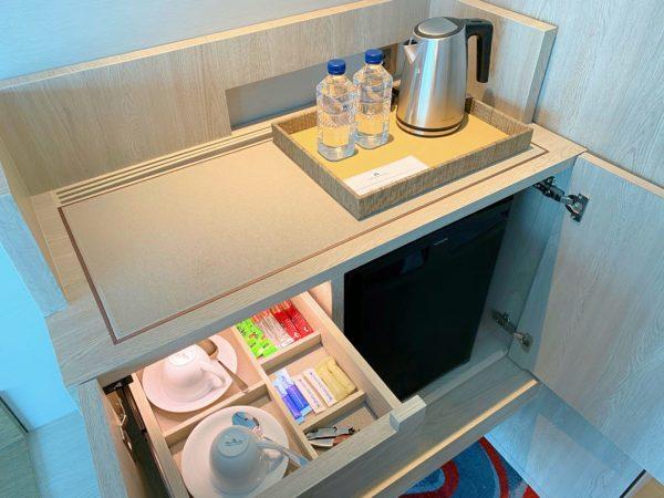 ホテル ニッコー バンコク(Hotel Nikko Bangkok)の冷蔵庫