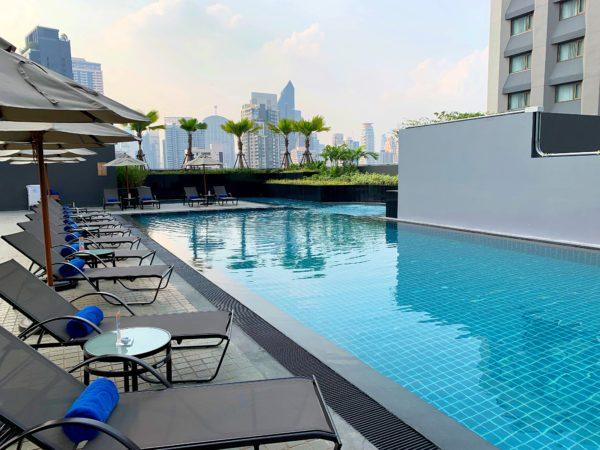 ホテル ニッコー バンコク(Hotel Nikko Bangkok)のプール1