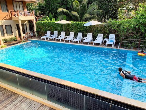 サメット カバナ リゾート (Samed Cabana Resort)のプール