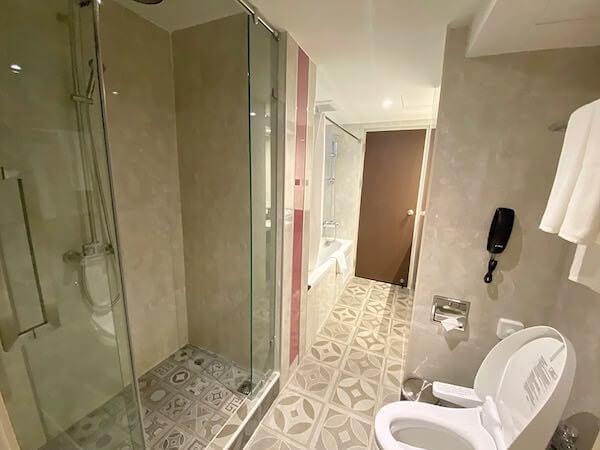 ホテル ヴァーヴ(Hotel Verve)のバスルーム1