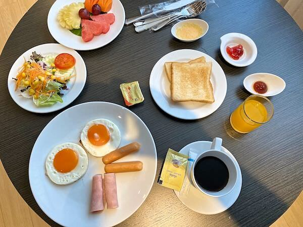 ホテル ヴァーヴ(Hotel Verve)の朝食