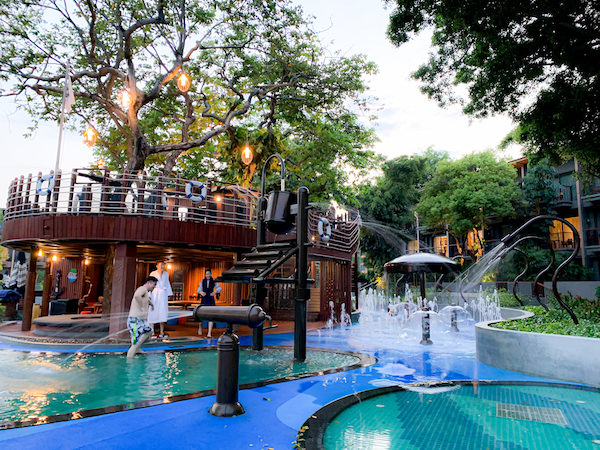 ホアヒン マリオット リゾート アンド スパ(Hua Hin Marriott Resort and Spa)の子供用プール2