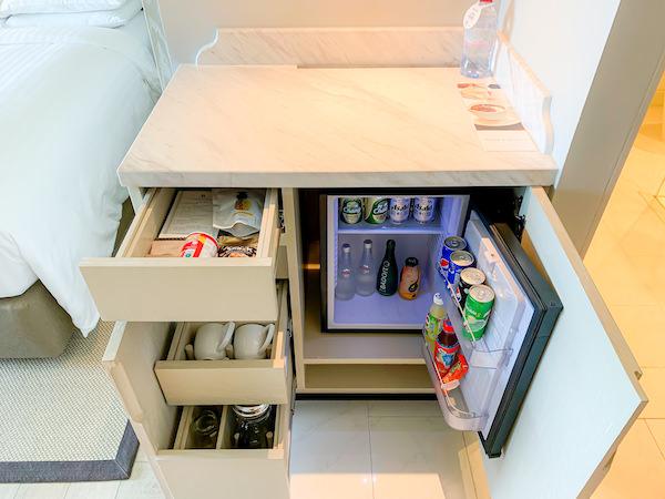 ホアヒン マリオット リゾート アンド スパ(Hua Hin Marriott Resort and Spa)の冷蔵庫