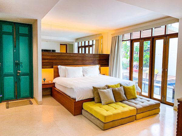 レッツ シー フアヒン アルフレスコ リゾート(Let's Sea Hua Hin Al Fresco Resort)の客室2