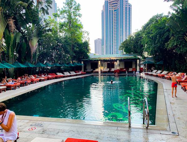 マンダリン オリエンタル バンコク(Mandarin Oriental Bangkok)のメインプール2