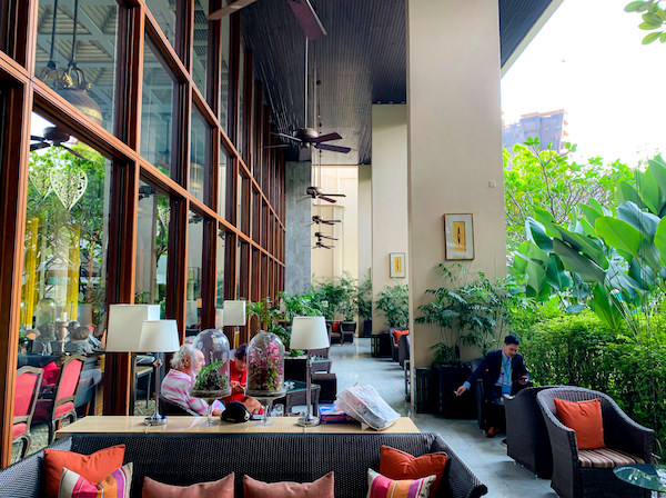 マンダリン オリエンタル バンコク(Mandarin Oriental Bangkok)の喫煙ルーム
