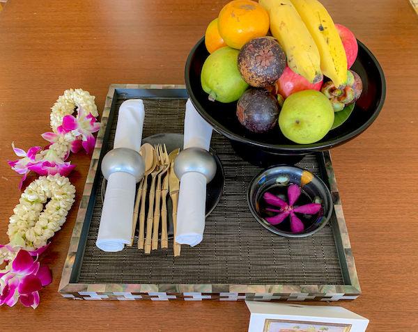 マンダリン オリエンタル バンコク(Mandarin Oriental Bangkok)のウェルカムフルーツ
