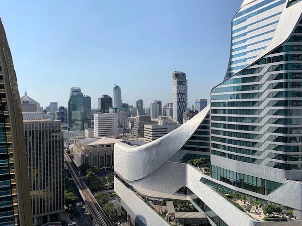 ジ オークラ プレステージ バンコク(The Okura Prestige Bangkok)のプールから見える景色2