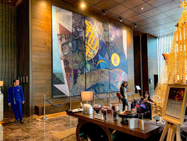 137 ピラーズ レジデンシズ バンコク(137 Pillars Residences Bangkok)のエントランス