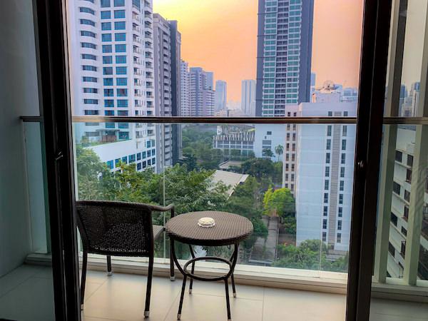 137 ピラーズ レジデンシズ バンコク(137 Pillars Residences Bangkok)のバルコニー