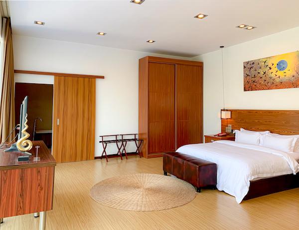 アンコール ランデブー(Angkor Rendezvous)のベッドルーム1