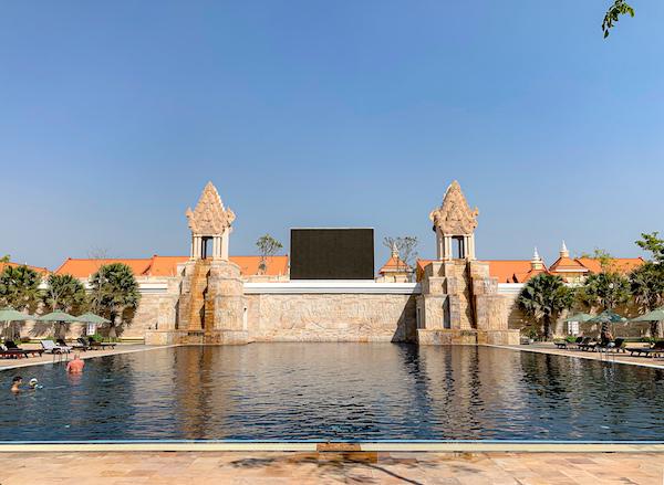 ソカ シェムリアップ リゾート アンド コンベンション センター (Sokha Siem Reap Resort and Convention Center)のプール1