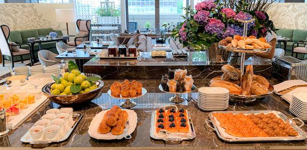 ローズウッド バンコク(Rosewood Bangkok)の朝食ビュッフェ