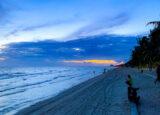 夕方のバンセンビーチ