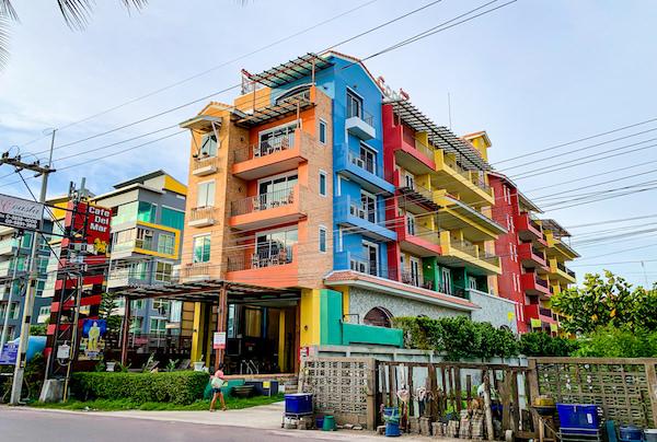 コースト バンセーン(Coasta Bangsaen)の外観