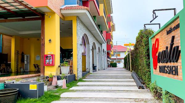 コースト バンセーン(Coasta Bangsaen)の入り口