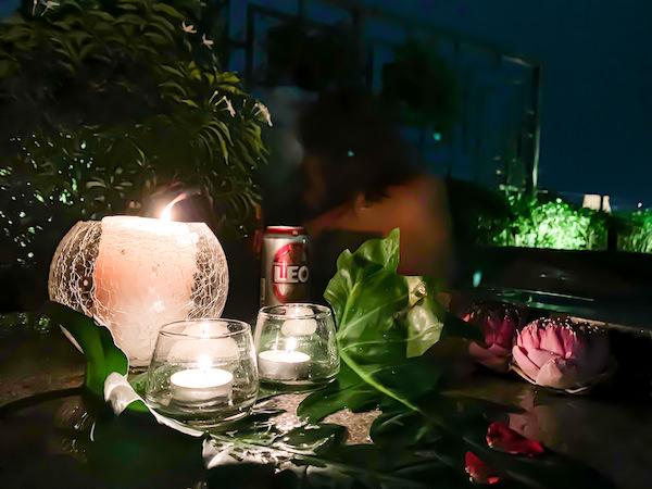 リヴァ アルン バンコク (Riva Arun Bangkok)のジャグジー風呂2