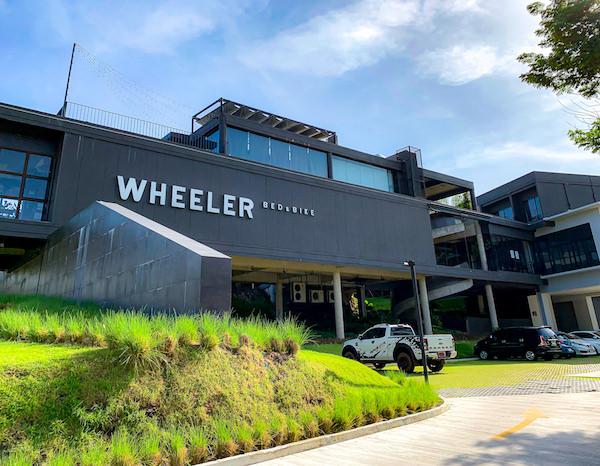 ウィーラー ベッド アンド バイク ホテル(Wheeler Bed and Bike Hotel)の外観