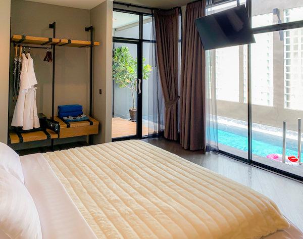 ウィーラー ベッド アンド バイク ホテル(Wheeler Bed and Bike Hotel)の客室ベッドルーム3