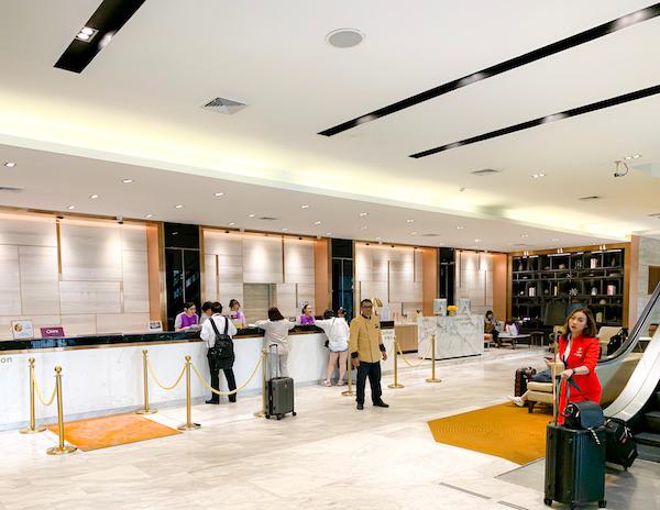 アマリ ドンムアン エアポート バンコクホテル(Amari Don Muang Airport Bangkok Hotel)のチェックインカウンター