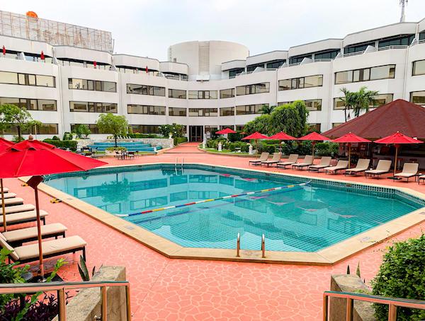 アマリ ドンムアン エアポート バンコクホテル(Amari Don Muang Airport Bangkok Hotel)のプール1