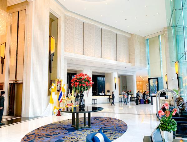 グランデセンターポイントホテルターミナル21(Grande Centre Point Hotel Terminal 21)のエントランスロビー