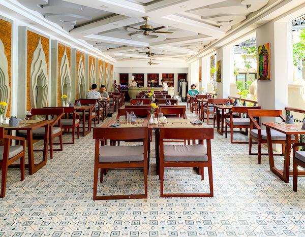 クメール マンション レジデンス(Khmer Mansion Residence)の朝食会場