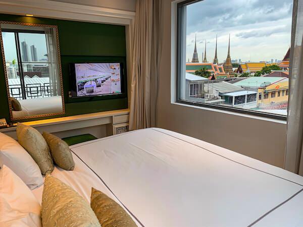 リヴァ アルン バンコク (Riva Arun Bangkok)の客室ベッドルーム