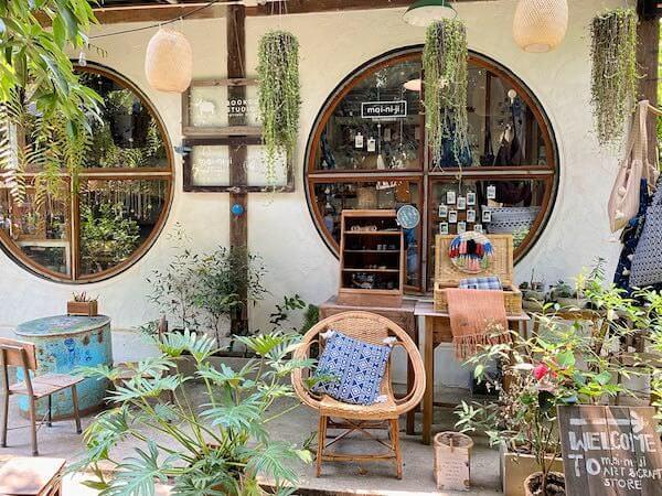 バーンカーンワット(Baan Khang Wat)の店「momiji」