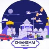チェンマイおすすめ観光地のアイキャッチ画像