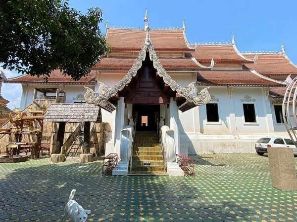 チェンマイ旧市街にある寺院