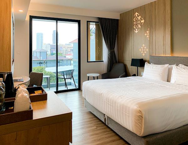 ホテル アンバーパタヤ(Hotel Amber Pattaya)の客室2