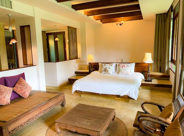 バーン ティエ ワン ホテル(Baan Tye Wang Hotel)の客室2