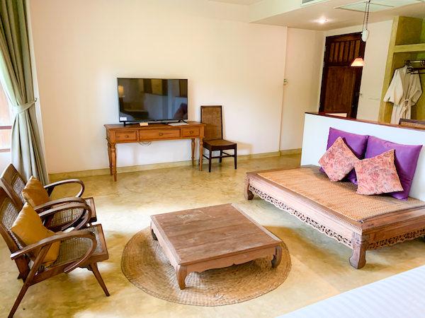 バーン ティエ ワン ホテル(Baan Tye Wang Hotel)の客室4