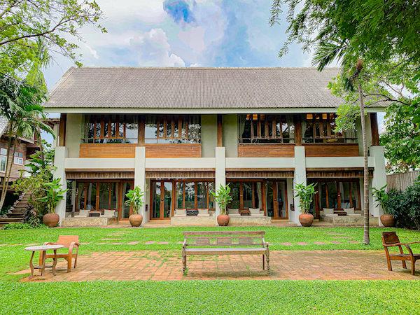 バーン ティエ ワン ホテル(Baan Tye Wang Hotel)の外観
