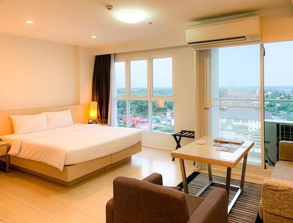 クラシック カメオ ホテル アンド サービスド アパートメンツ アユタヤ (Classic Kameo Hotel and Serviced Apartments, Ayutthaya)の客室2